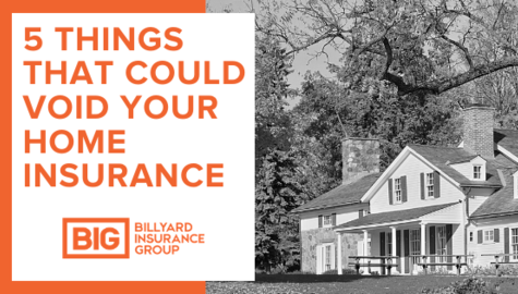 What Can Void Your Home Insurance