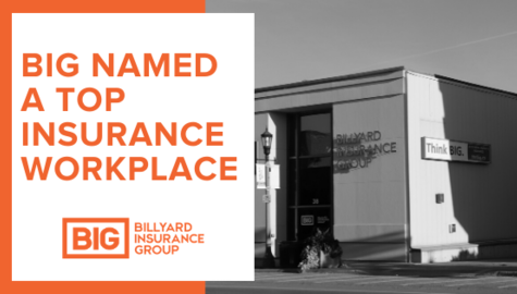 Billyard Insurance Group Named Top Insurance Workplace