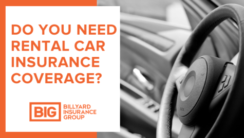 Rental Car Insurance Coverage | Steering Wheel | Billyard Insurance Group Blog