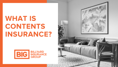 Contents Insurance | Furniture in Living Room | Billyard Insurance Group