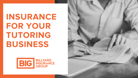 Private Tutor Insurance | Billyard Insurance Group | Adult tutoring a student
