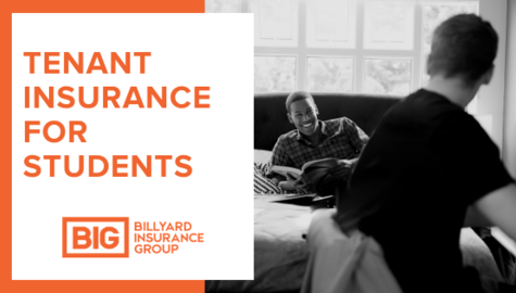 Tenant Insurance for Students | Billyard Insurance Group | Roommates in College Dorm