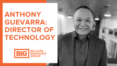 Billyard Insurance Group | New Hire | Anthony Guevarra
