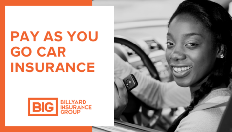 Pay As You Go Car Insurance | Billyard Insurance Group | Woman driving car