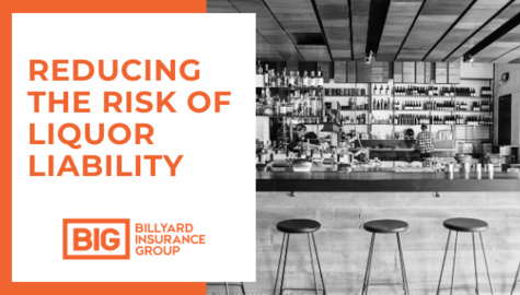 Liquor Liability Insurance | Billyard Insurance Group | Restaurant Bar