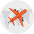 Multi-trip Travel Insurance Icon Small