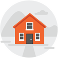 Commercial Property Insurance Icon Small